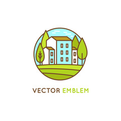 Vector graphic design and logo design template