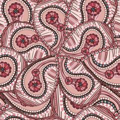 ornate ethnic flower