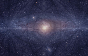 Fractal galaxy cosmic consciousness, the Eye that is the Source of Creation