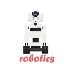 Japaneese Robot Cartoon Style Icon