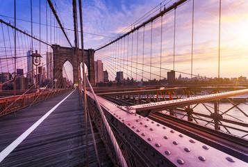Wall Mural - Brooklyn Bridge in New York City