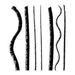 Lines. Pastel. Vector.