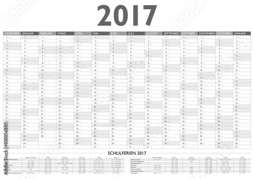 Jahresplaner / Kalender 2017