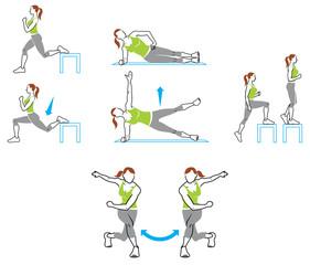 Bikini Kickstart exercises