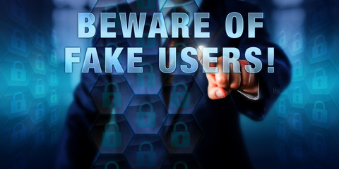 Corporate Manager Pushing BEWARE OF FAKE USERS!
