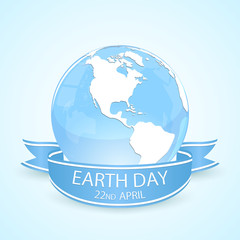 Earth day and blue planet