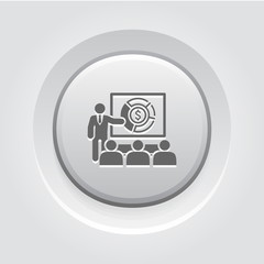 Market Analysis Icon. Business Concept.