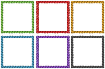 Frame design in six colors