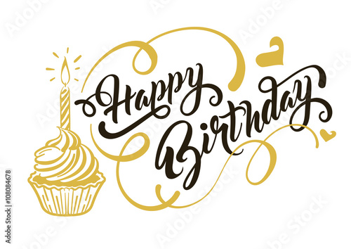 happy birthday vector stock image and royalty free vector files on rh fotolia com birthday card vector ai birthday card vector design