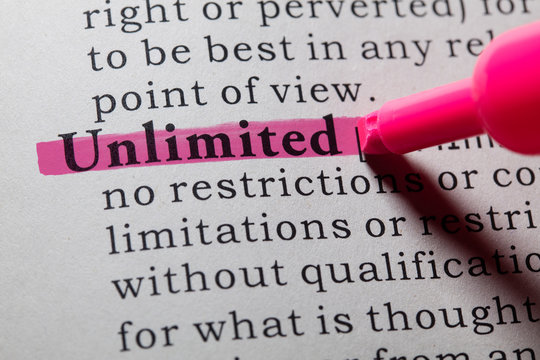 definition of unlimited