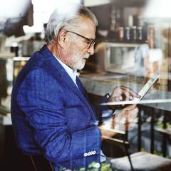 Bar Owner Cafe Bottle Style Suit Restaurant Relax Concept