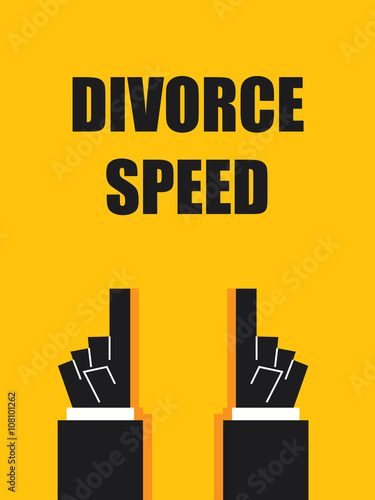 Divorce Speed Signs And Symbols Stock Image And Royalty Free Vector