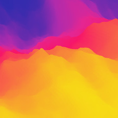 Colorful Abstract Background. Design Template. Vector Illustration.