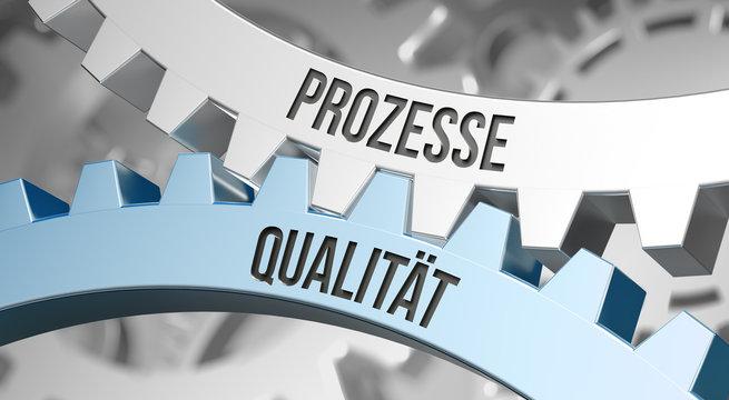 Zahnrad / Prozesse / Qualität