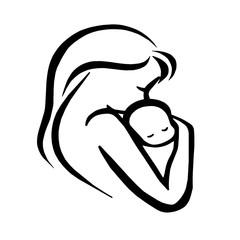Картинки по запросу мама с ребенком картинки