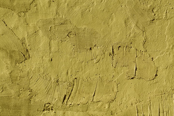 Abstract yellow cement wall texture.