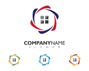Group Property Logo Template