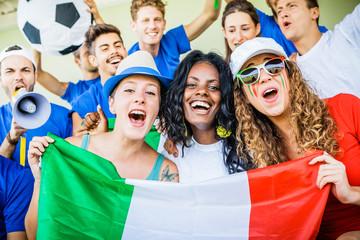 Italian Female Supporters, Soccer Championship