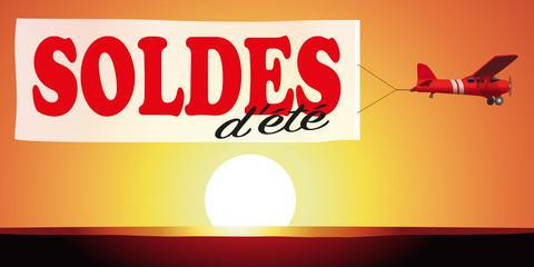 SOLDES D'ÉTÉ - coucher de soleil