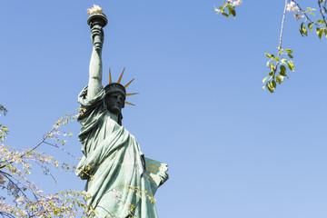 写真素材「自由の女神 in お台場」