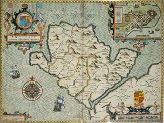 Britain vintage  medieval map