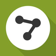 share  icon design , vector illustration