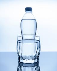 bottle of water is