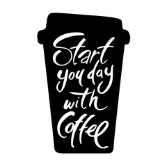 start you day with coffee
