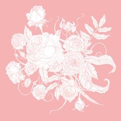Vector Pastel Floral