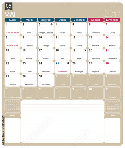 Xs Calendar May : Quot french calendar may printable monthly