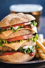 Fish burger time