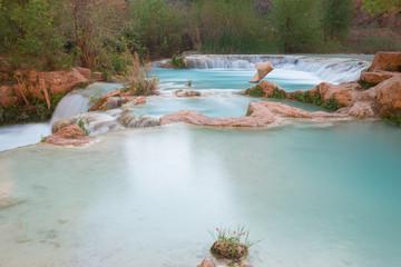 Multi-layered pool of Havasu Falls