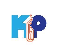kp logotype simple tech