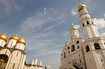 Annunciation Cathedral & Ivan the Great, Bell Tower - Kremlin - Russia