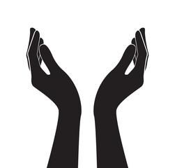 free hands art vector