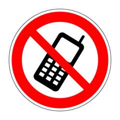 No phone sign 8.04