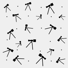Geometric minimal pattern, space, telescope