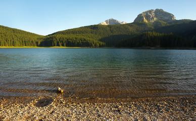 Crno Jezero Lake in Durmitor, Montenegro