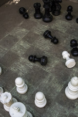 Chess on the ground