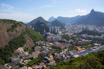 Rio aerial view