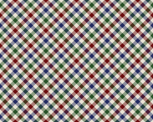 colored checked diagonal fabric texture seamless pattern