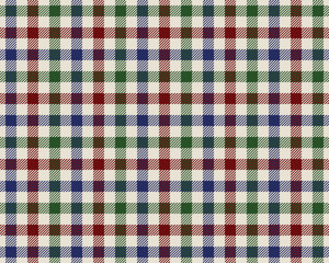 colored checked fabric texture seamless pattern