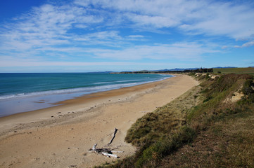 Beach in Timaru, New Zealand