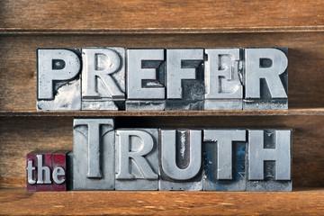 prefer the truth tray