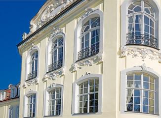 barocke Stuckfassade sehr hochwertig
