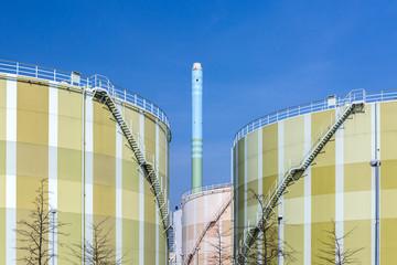 Öl Tank Tanklager Industrie