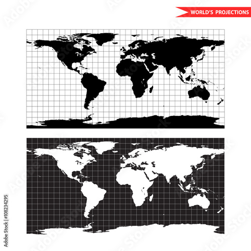 Lambert azimuthal equal area world map projection black and white lambert azimuthal equal area world map projection black and white world map vector illustration stock image and royalty free vector files on fotolia gumiabroncs Images