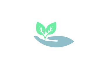 tree hand ecology logo