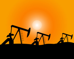 Installations for oil production