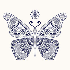 butterfly for coloring page